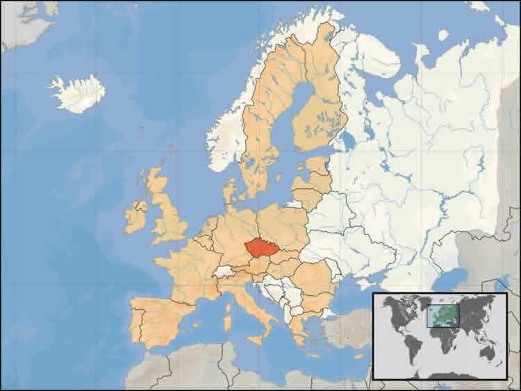 Géographie de la République Tchèque